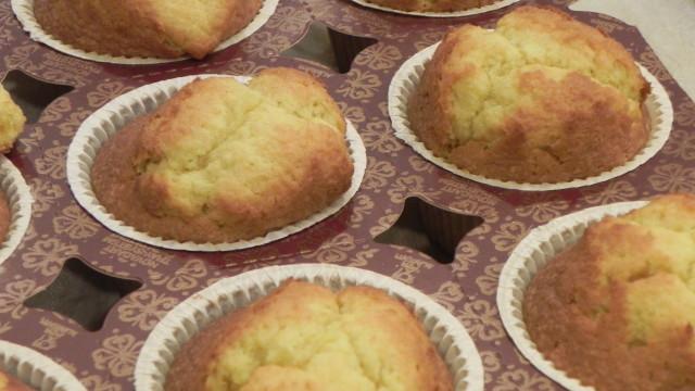 Ecco i nostri muffin appena sformati!