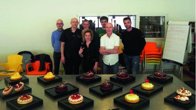 """L'11 e il 12 marzo in Eurodolce si è tenuto il corso """"Crostate di tendenza"""" con il Maestro Rossano Vinciarelli."""